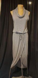 Anthropologie Dolan Striped sleeveless maxi dress